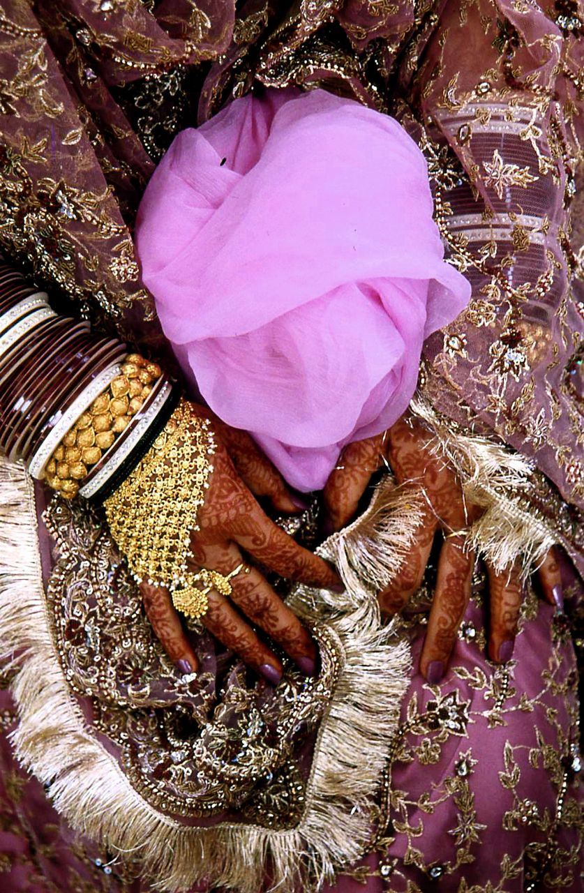Dehli Bridal Hands: Richter