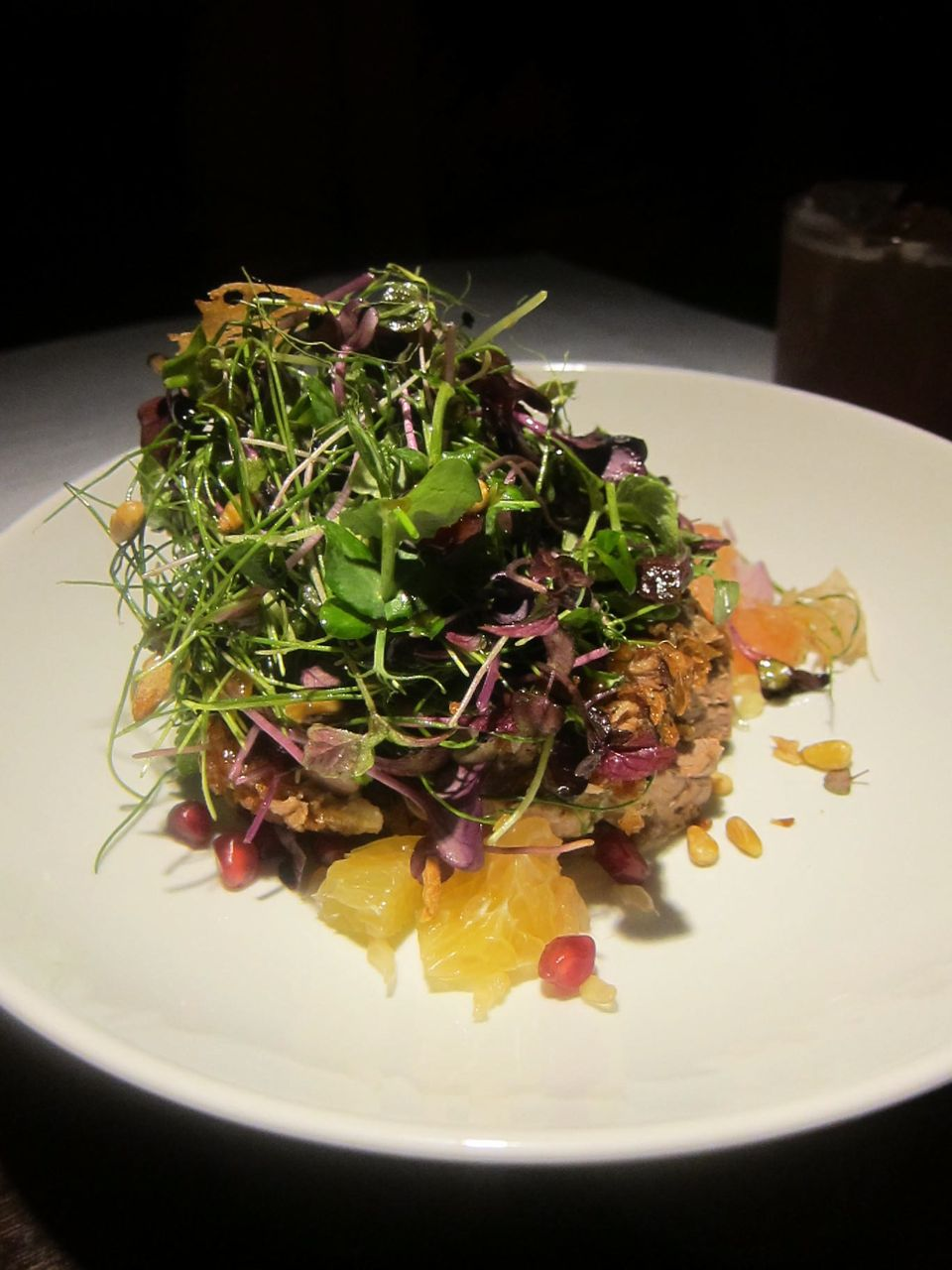 It's not especially Chinese but duck salad with citrus and greens is a lively starter