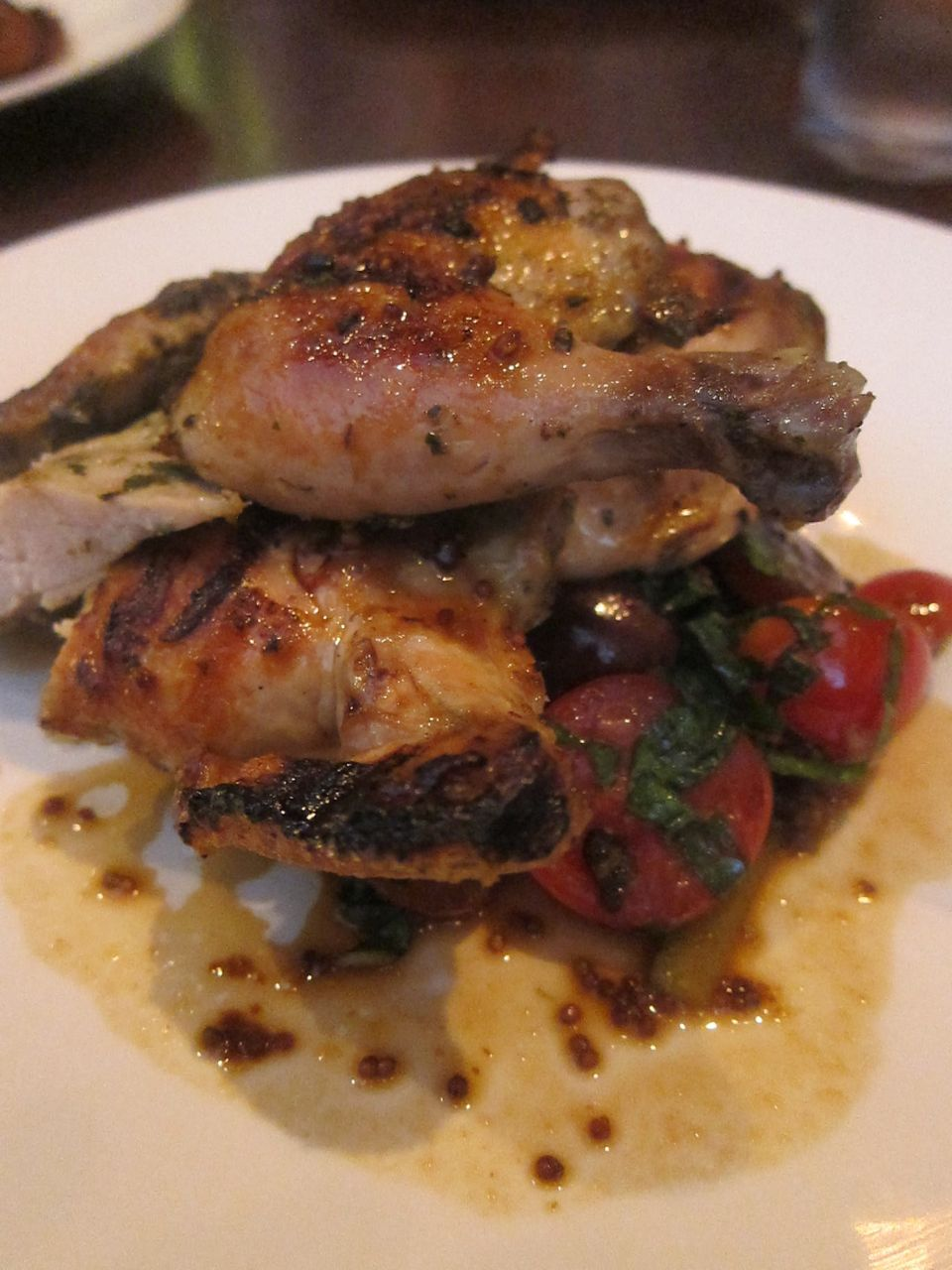 Jezebel's $38 kosher cornish hen, it ought to look gorgeous.