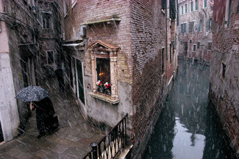 Venice in the Snow, Castello