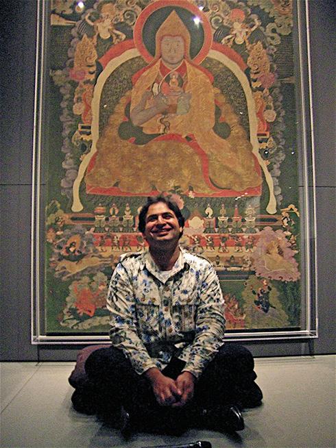 Suvir Saran confesses to fusion at Rubin Museum.  Photo: Steven Richter
