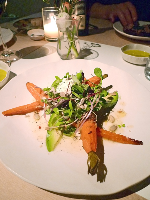 Jean-Georges exposes the secret joy of carrots at ABC Kitchen. Photo: Steven Richter