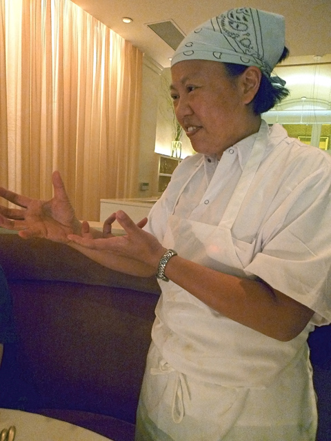 Anita Lo is back in the kitchen at feng shui-guarded Annisa/ Photo: Steven Richter