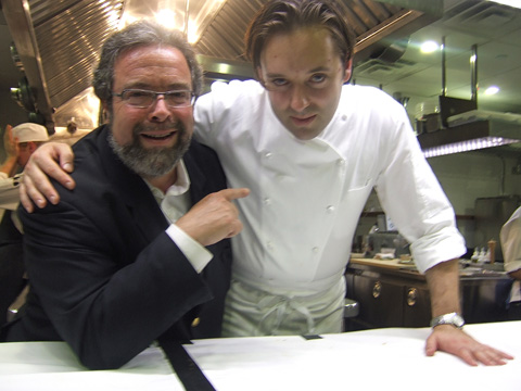 Drew Nieporent hopes chef-partner Paul Liebrandt will be Corton's David Bouley. Photo: Steven Richter.