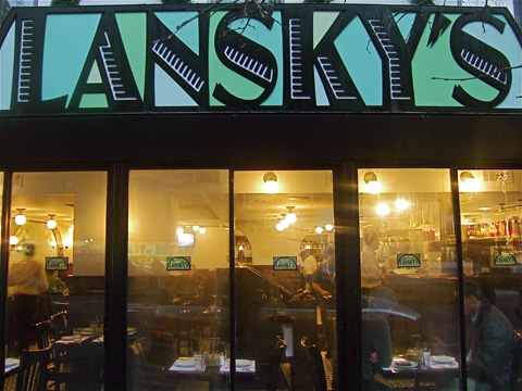 Lansky's Old Fashioned Deli bites off more than it can chew. Photo: Steven Richter