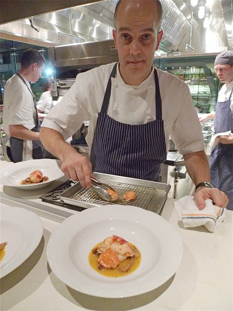 Chef Benno wemt from Per Se's 70 seats to 120 seats and open kitchen. Photo: Steven Richter.