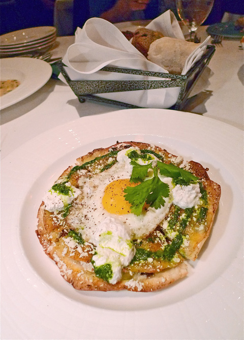 The fabulous quesadilla is a starter to share or could be dinner. Photo: Steven Richter.