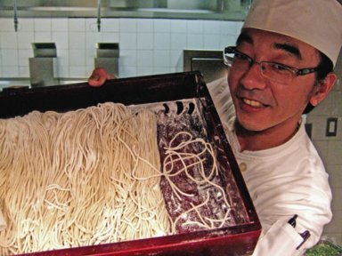 Chef Yoshitaka Nakamura has got a noodle for you. Photo: Steven Richter