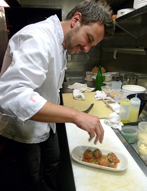 Sfoglia chef Ron Suhanosky trades la dolce vita for home at the range. Photo: Steven Richter